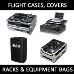 Flight Cases, Covers, Racks, Equipment Bags